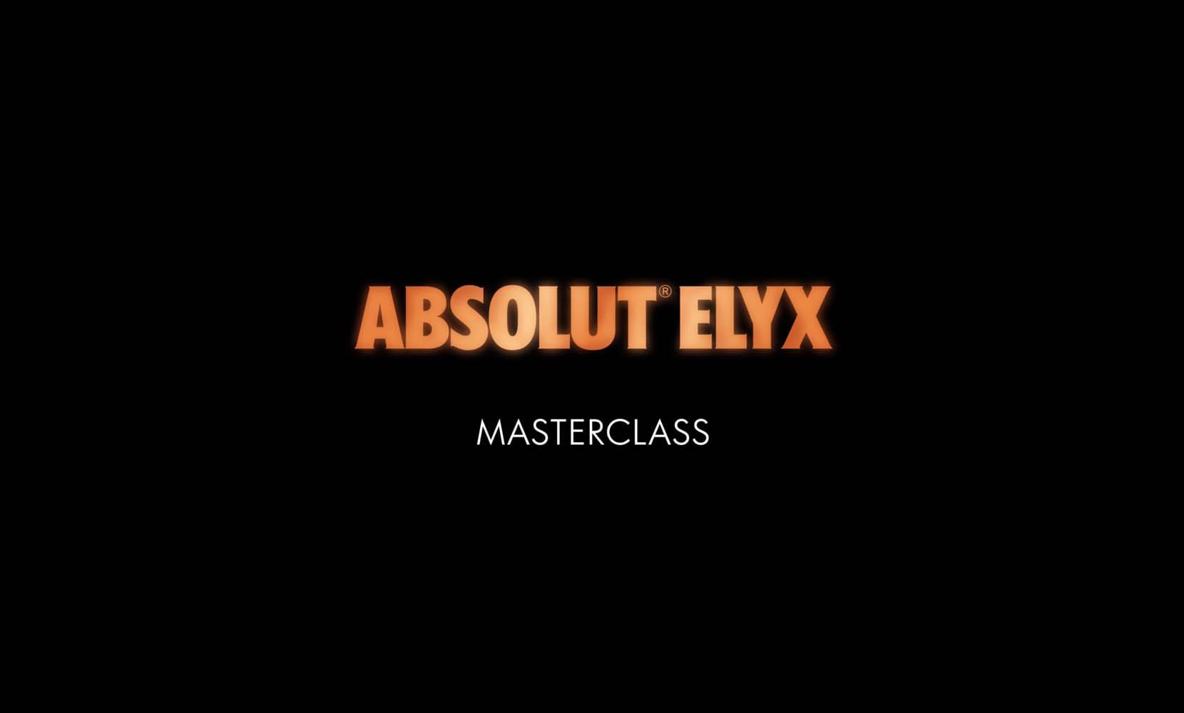 Absolut Elyx Master Class